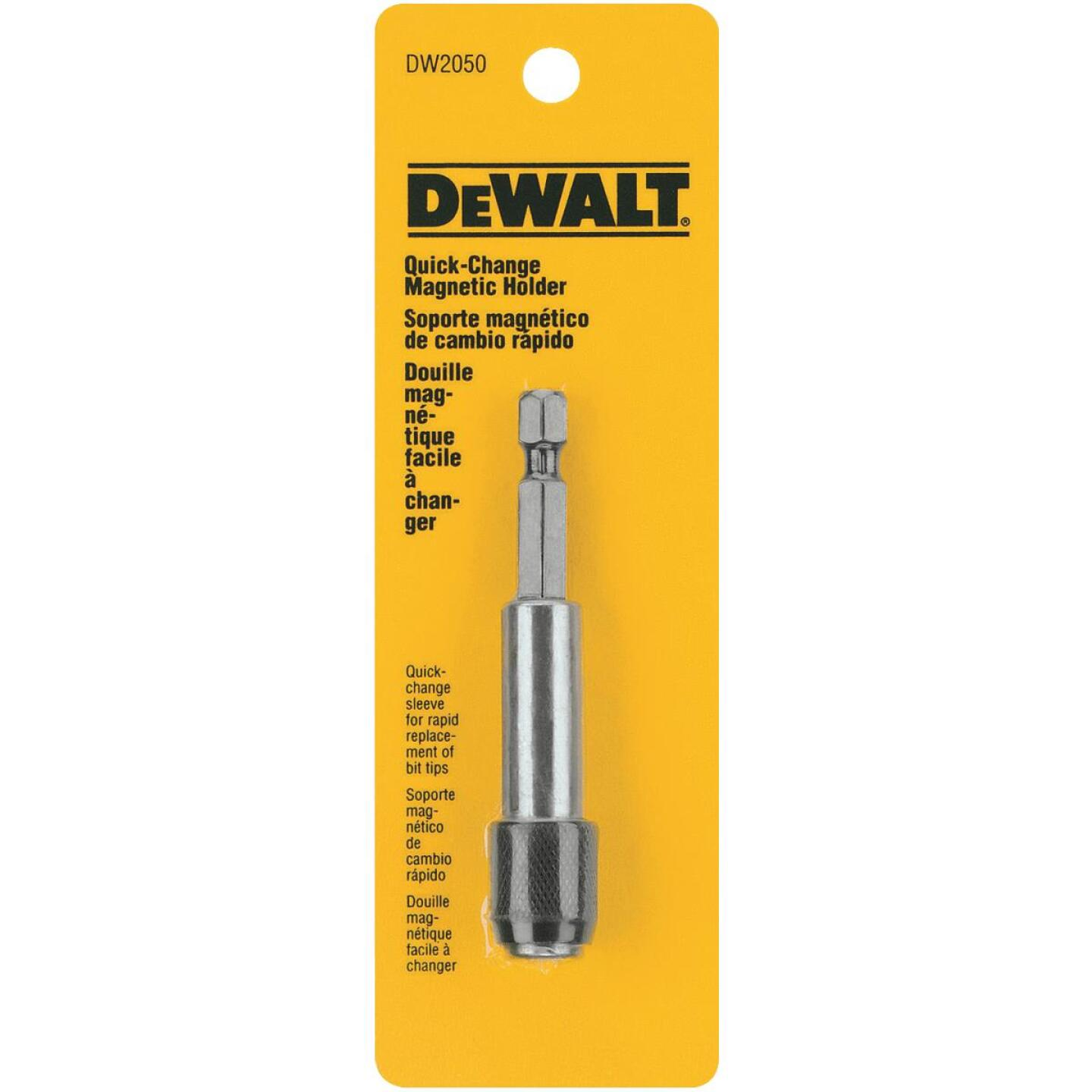 DeWalt 3 In. Standard Hex Shank Bit Holder Image 1