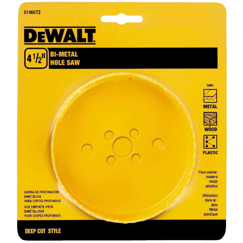 DeWalt 4-1/2 In. Bi-Metal Hole Saw Image 2