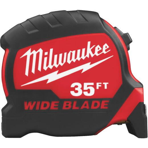 Milwaukee 35 Ft. Wide Blade Tape Measure