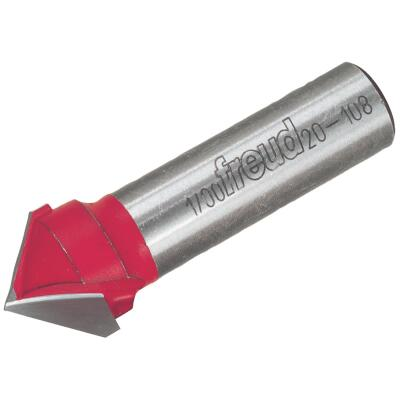 Freud Carbide Tip 3/4 In. V-Groove Bit