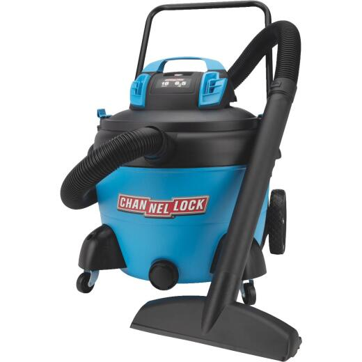 Channellock 16 Gal. 6.5-Peak HP Wet/Dry Vacuum