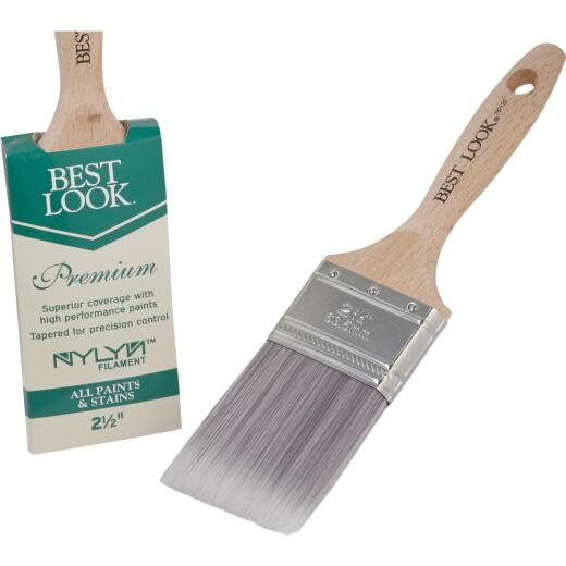 Best Look Premium 2.5 In. Flat Nylyn Paint Brush