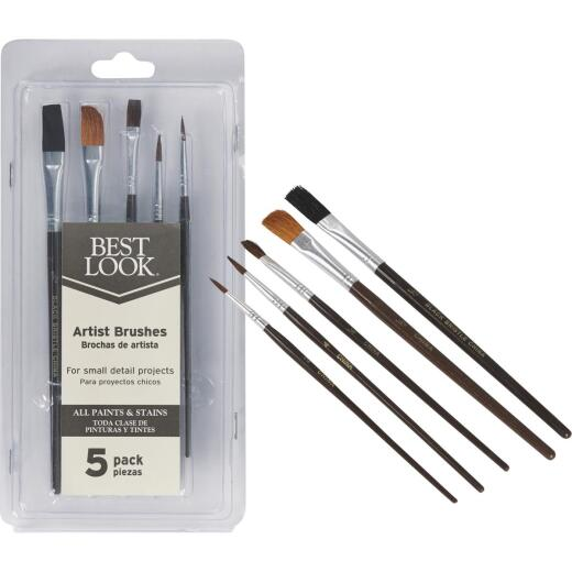 Best Look Artist Brush Set (5-Piece)